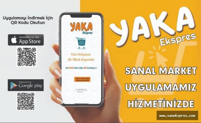 YAKA'dan Sanal Market Hizmete