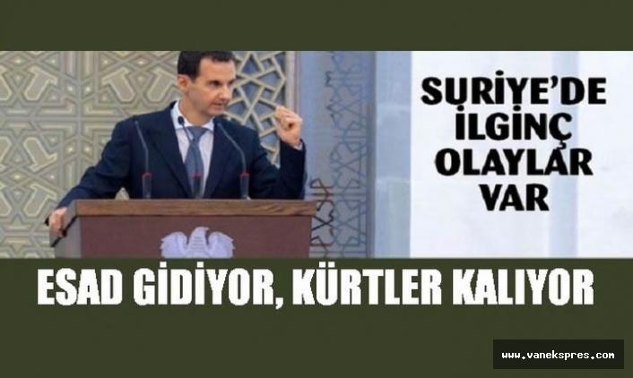 Suriye'de Esad Gidiyor Kürtler Kalıyor...