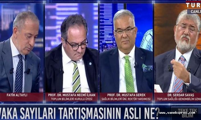 TV'de Cumhurbaşkanı Erdoğan'a Sınav çağrısı