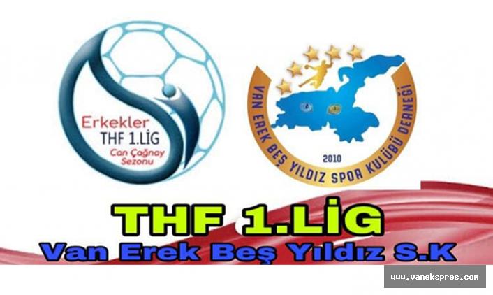 Van Erek Beş Yıldız Hentbol 1. Lig'de