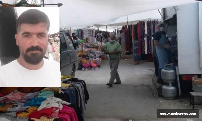Van'da Pazarcı Esnafı Dertli