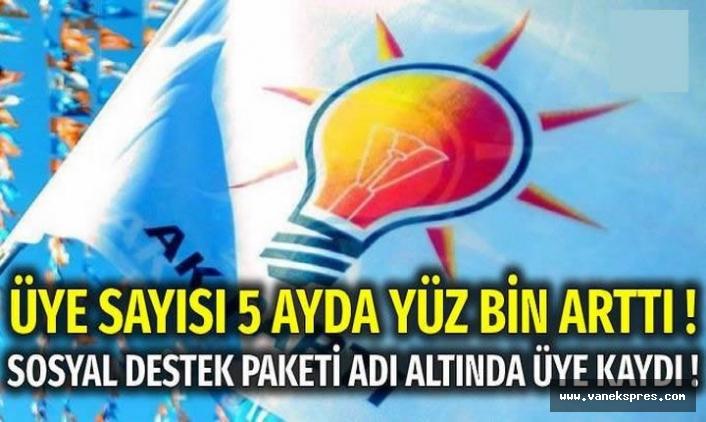 400 kişi AKP'ye rızaları dışında üyelik yapıldı iddiası