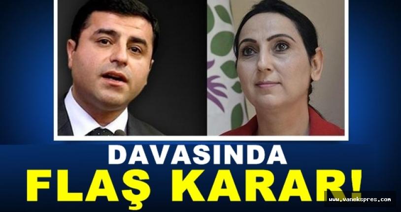 HDP'li Yüksekdağ hakkında yeni gelişme
