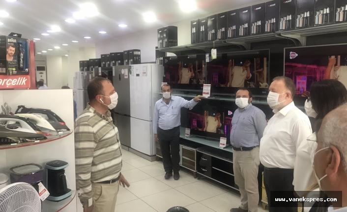 HDP Milletvekilleri Van'da esnaf ziyaretinde bulundu
