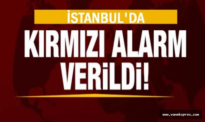 İstanbul'da korona virüs için kırmızı alarm!