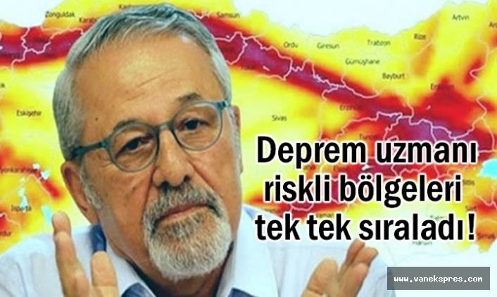 Ünlü Profesörden Van İçin Deprem Uyarısı