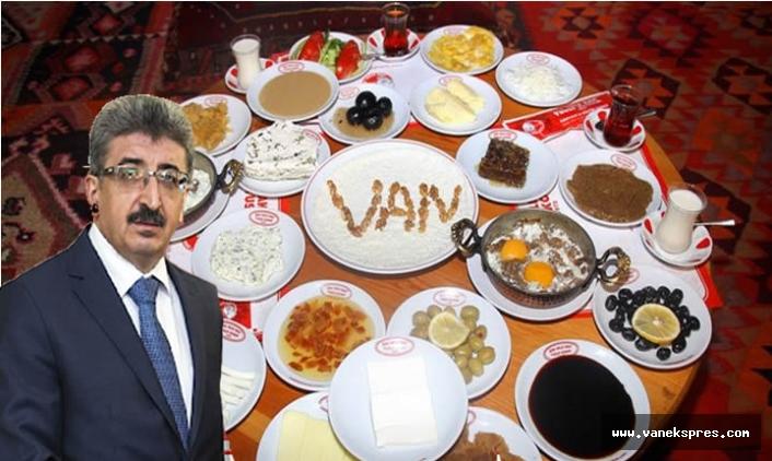 Van Kahvaltısı sonunda tescillendi, Vali Duyurdu...