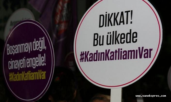 7 ayda 155 kadın öldürüldü