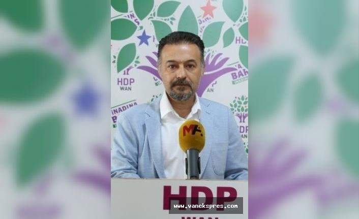 Dede: Van Valisi AKP'nin il başkanı gibi davranıyor