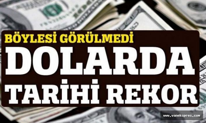 Dolar ve Euro yeni rekora koşuyor