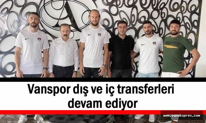 Vanspor'da 7 futbolcu yuvada kaldı, 2 yeni transfer!