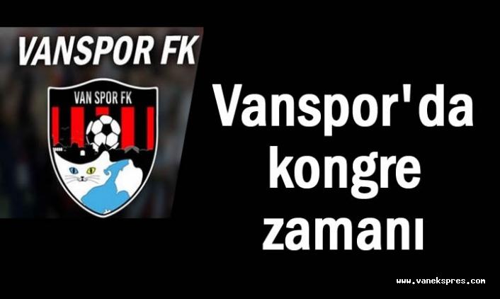 Vanspor'dan Üyelerine Çağrı!