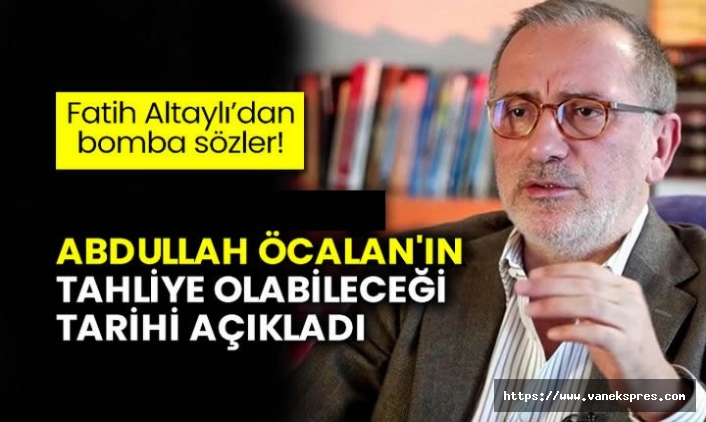 Fatih Altaylı'dan Abdullah Öcalan iddiası! Tarih verdi: Tahliye…