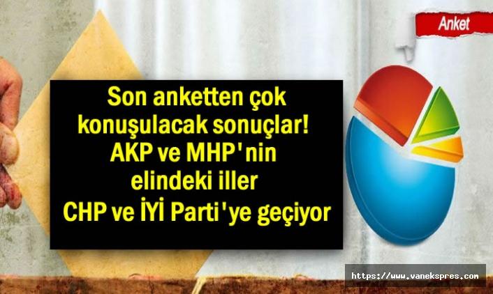 Özkiraz'dan yerel seçim anketi: AKP ve MHP 6 ili daha kaybediyor