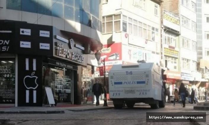 Van'da Mezopotamya Ajansına polis baskını
