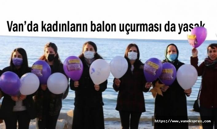 Van'da balon uçurtmak da yasak