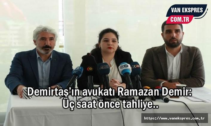Demirtaş'ın avukatı Demir: Tahliye Talebinde Bulunduk