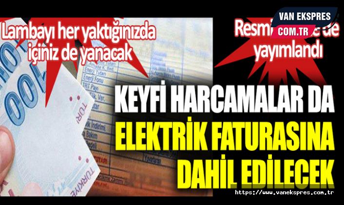 Elektrik Şirketlerinin O Giderlerini Vatandaşlar Ödeyecek!