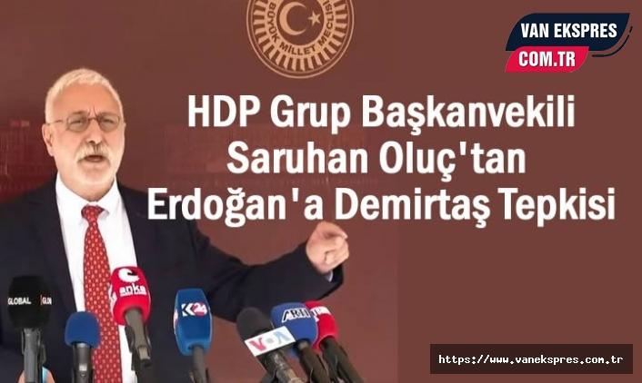 HDP'den Erdoğan'nın Demirtaş açıklamasına tepki