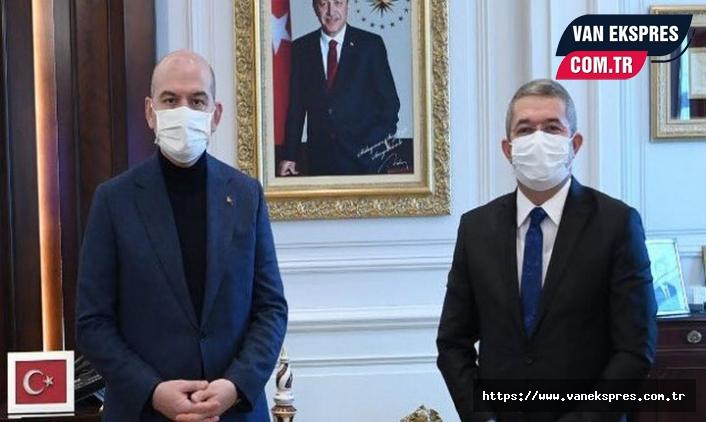 Başkan Takva 'Kapıköyü' Bakan Soylu'ya sordu