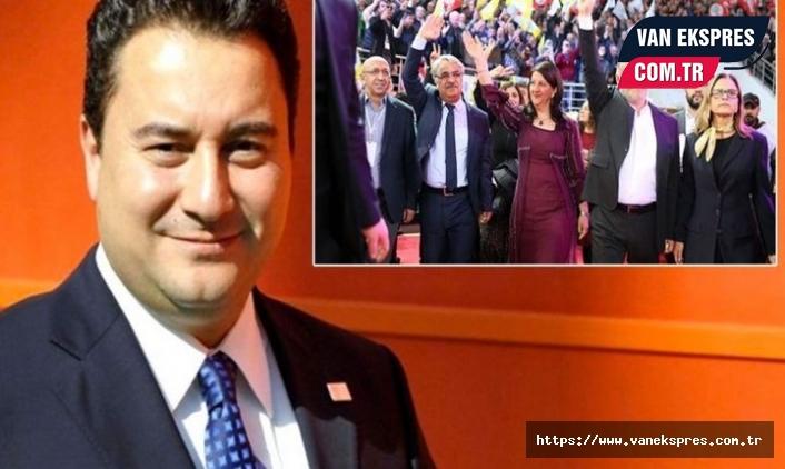 DEVA Genel Başkanı Babacan'dan HDP açıklaması