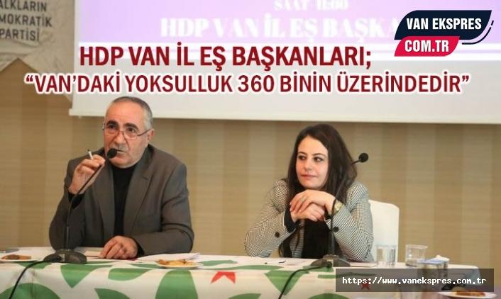 HDP'li Eş Başkanlar Basınla Buluştu!