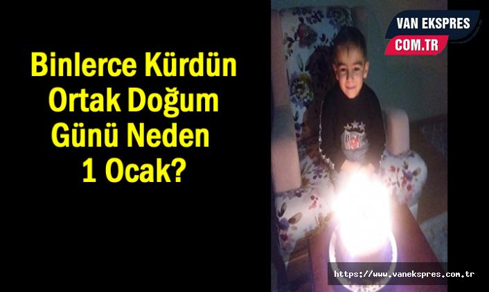 Her 10 Kürt'ten 5'i 1 Ocakta Doğması Tesadüf Değil