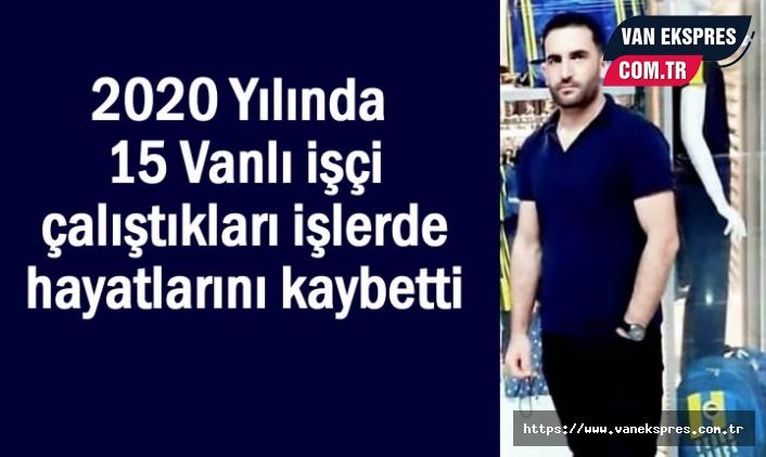 İstanbul'da İnşaattan düşen Vanlı işçi hayatını kaybetti