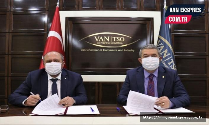 Van TSO İle Halkbank Arasında Kobi´leri Rahatlatacak Adım