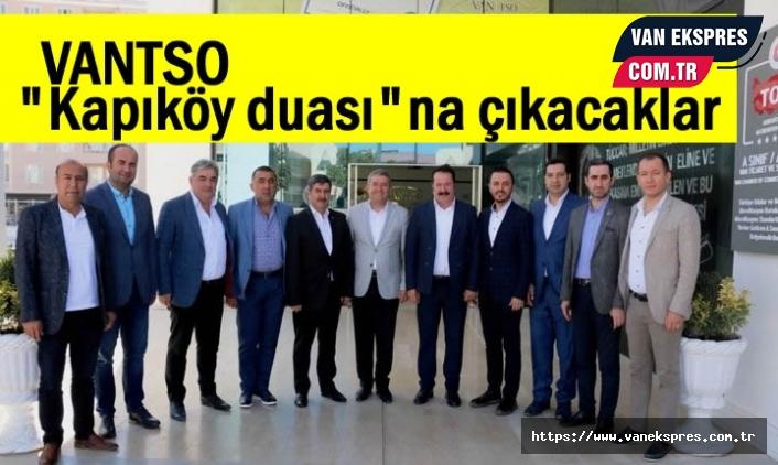 """Van TSO: """"Kapıköy Duası""""na çıkacağız..."""