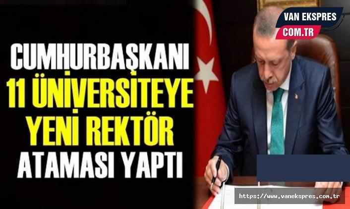 Hakkari, Bitlis ve 9 ile yeni rektör atandı