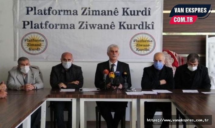 Kürt Dil Platformu'ndan Erdoğan'a mektup!