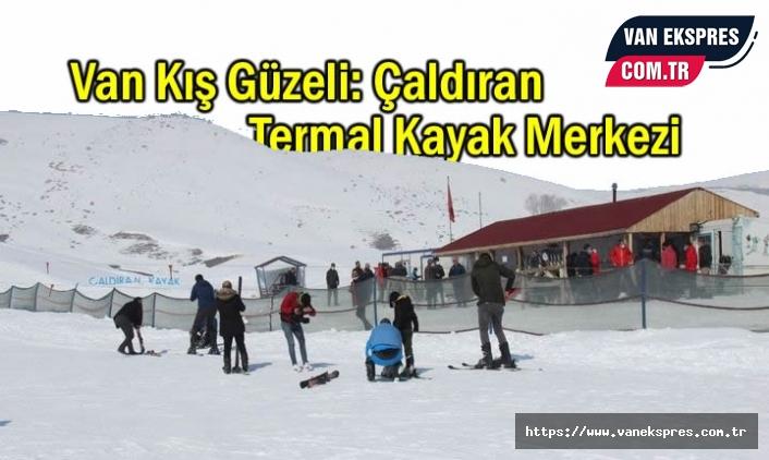 Türkiye'nin en soğuk yerinde kayak keyfi!