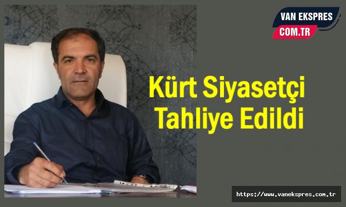Van'da Kürt Siyasetçi Kalçık Tahliye Edildi