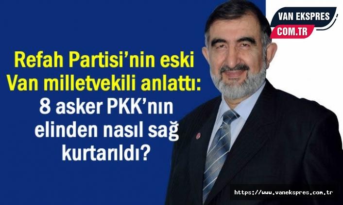 Erbaş, 8 askeri PKK'nın elinden nasıl sağ kurtarıldığını anlattı