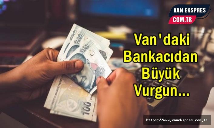 Van'da Zimmetine para geçirdiği iddiasıyla tutuklandı
