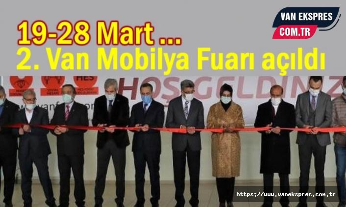2. Van Mobilya Fuarı açıldı