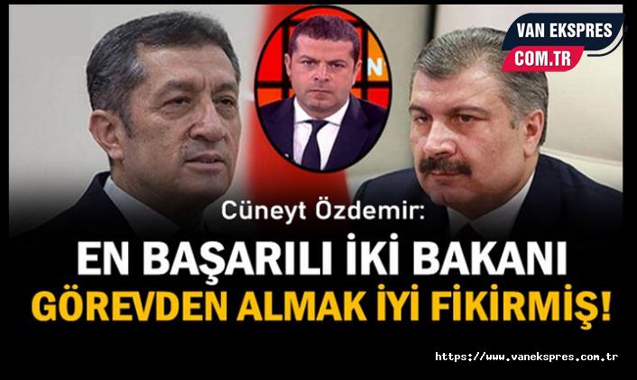 """Özdemir: Bakan Soylu'yu da alın!"""" Tam olsun"""