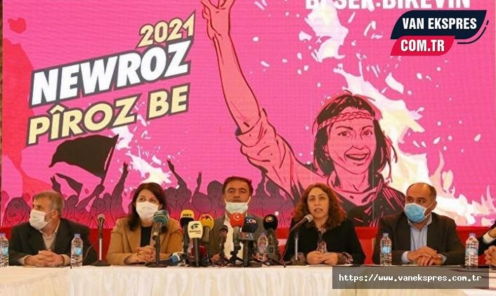Diyarbakır'da Newroz deklarasyonu açıklandı