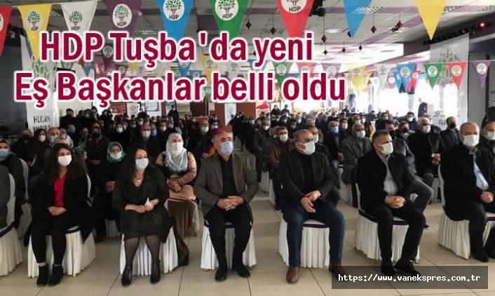 HDP Tuşba yeni Eş Başkanlar belli oldu