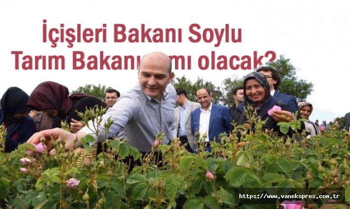 İçişleri Bakanı Soylu Tarım Bakanı mı olacak?