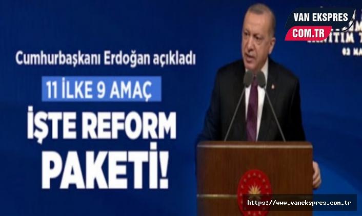 """İşte Erdoğan'ın açıkladığı """"insan hakları reform paketi"""" 11 Madde"""