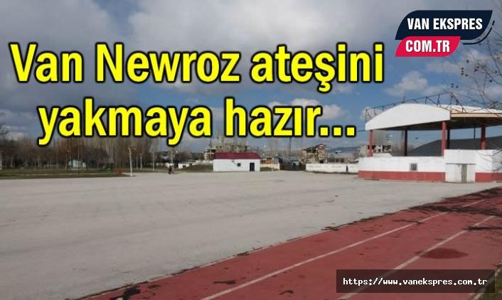 Van Newroz ateşini yakmaya hazır