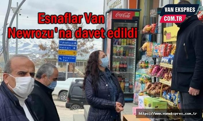 Van Newroz Komitesi Esnafı Davet Etti