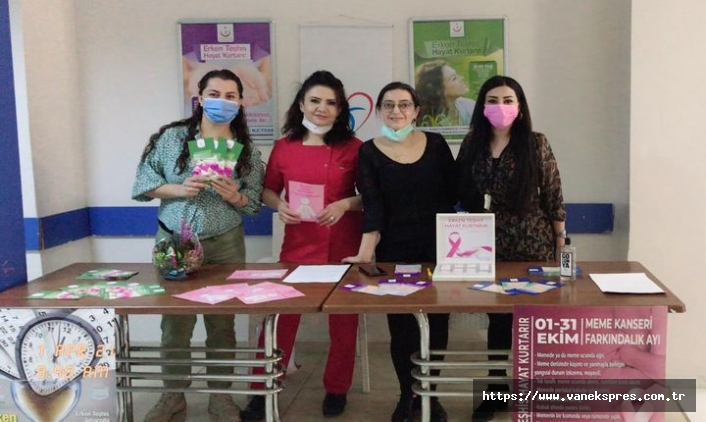 Akdamar Hastanesi'nde kanser standı açtılar