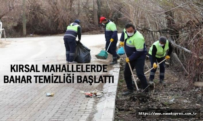 Belediyenin Kırsalda Bahar Temizliği Sürüyor