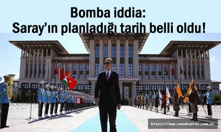 Erdoğan yeniden aday olacak mı? tarih belli oldu!