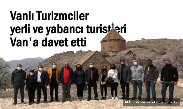 Turizmciler yerli ve yabancı turistleri Van'a davet etti