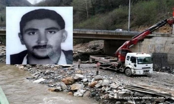 Vanlı İşçi Akıntıya Kapılarak Hayatını Kaybetti