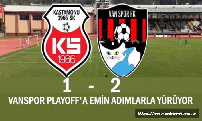 Vanspor FK Play-Off'a merhaba dedi